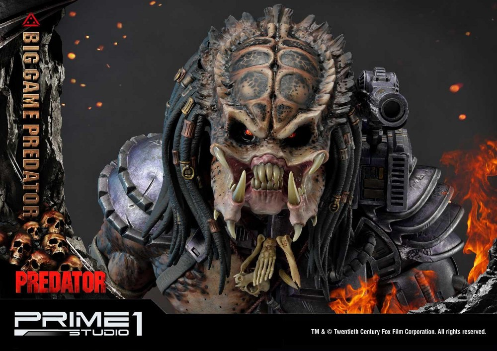Big Game Predator 1/4 Statue Big_ga28