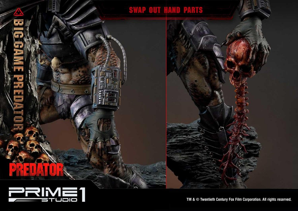 Big Game Predator 1/4 Statue Big_ga29