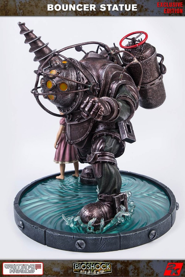 GAMING HEADS : Bioshock – Big Daddy Bouncer and Little Sister Statue Biosho13