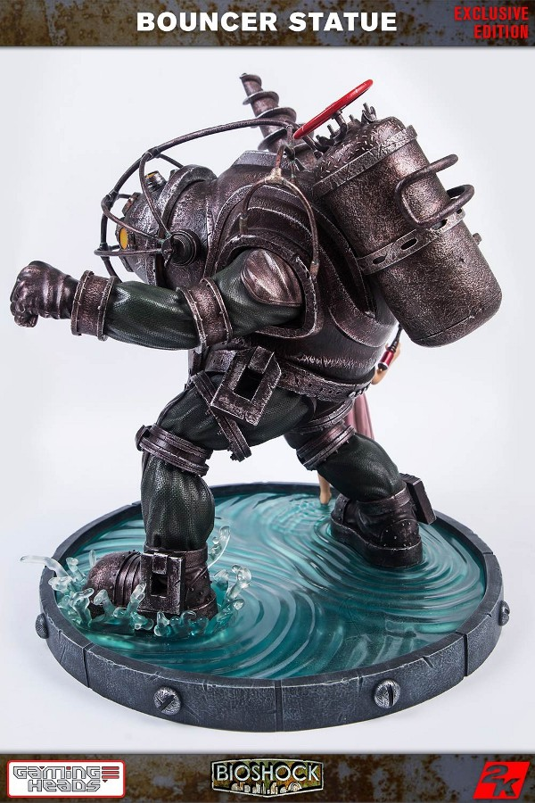 GAMING HEADS : Bioshock – Big Daddy Bouncer and Little Sister Statue Biosho14