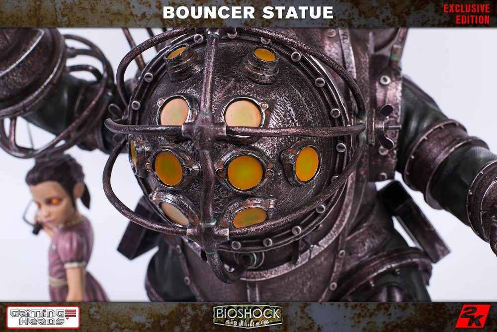 GAMING HEADS : Bioshock – Big Daddy Bouncer and Little Sister Statue Biosho17