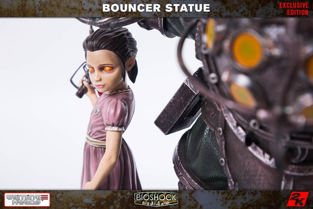 GAMING HEADS : Bioshock – Big Daddy Bouncer and Little Sister Statue Biosho18