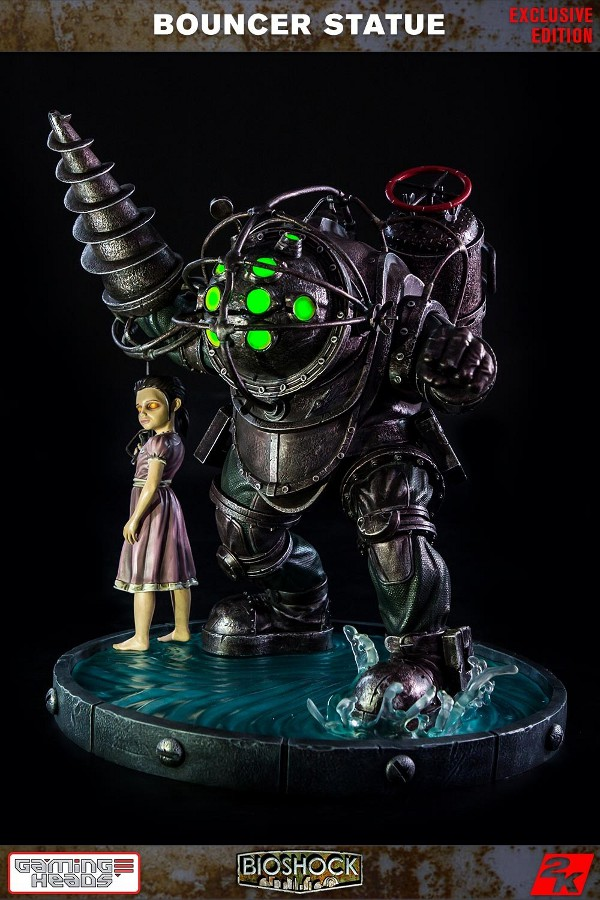 GAMING HEADS : Bioshock – Big Daddy Bouncer and Little Sister Statue Biosho20