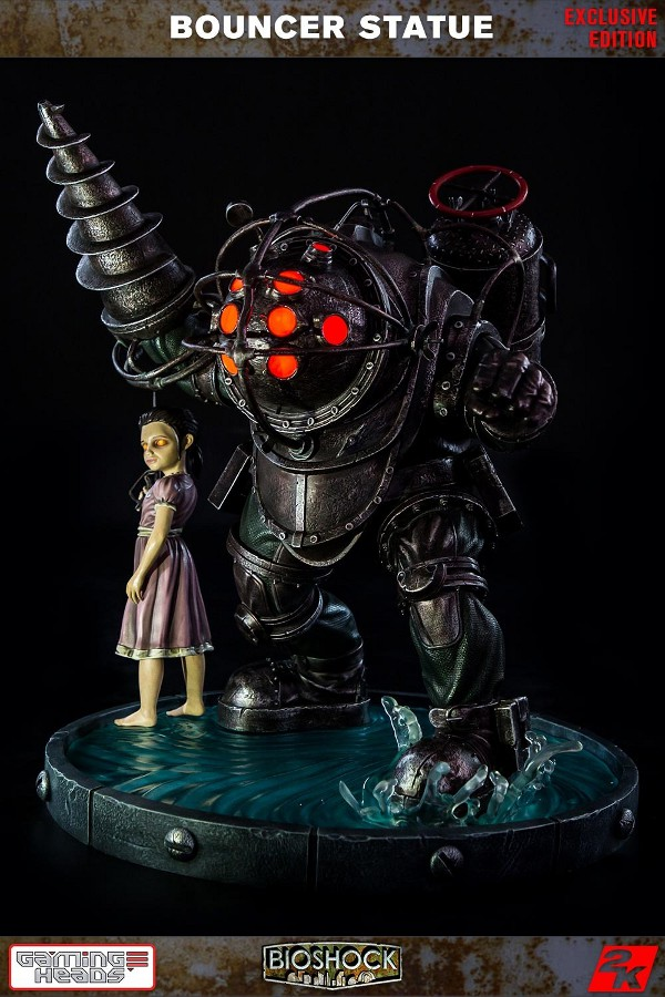 GAMING HEADS : Bioshock – Big Daddy Bouncer and Little Sister Statue Biosho21