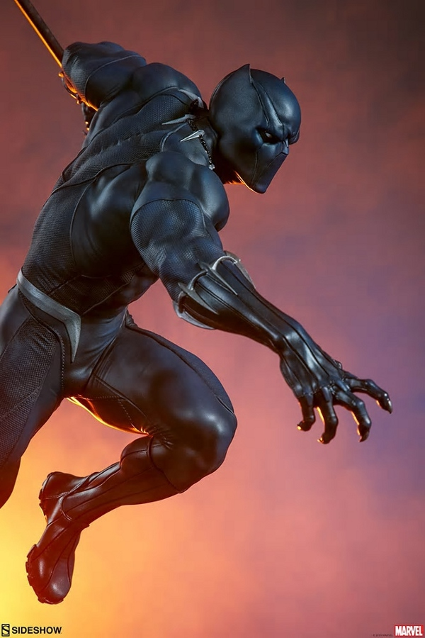 BLACK PANTHER statue - Avengers Assemble Collection  Black_31
