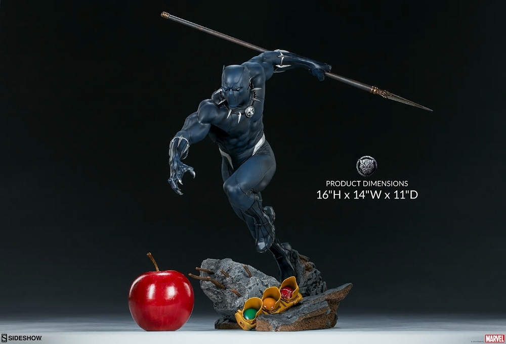 BLACK PANTHER statue - Avengers Assemble Collection  Black_32