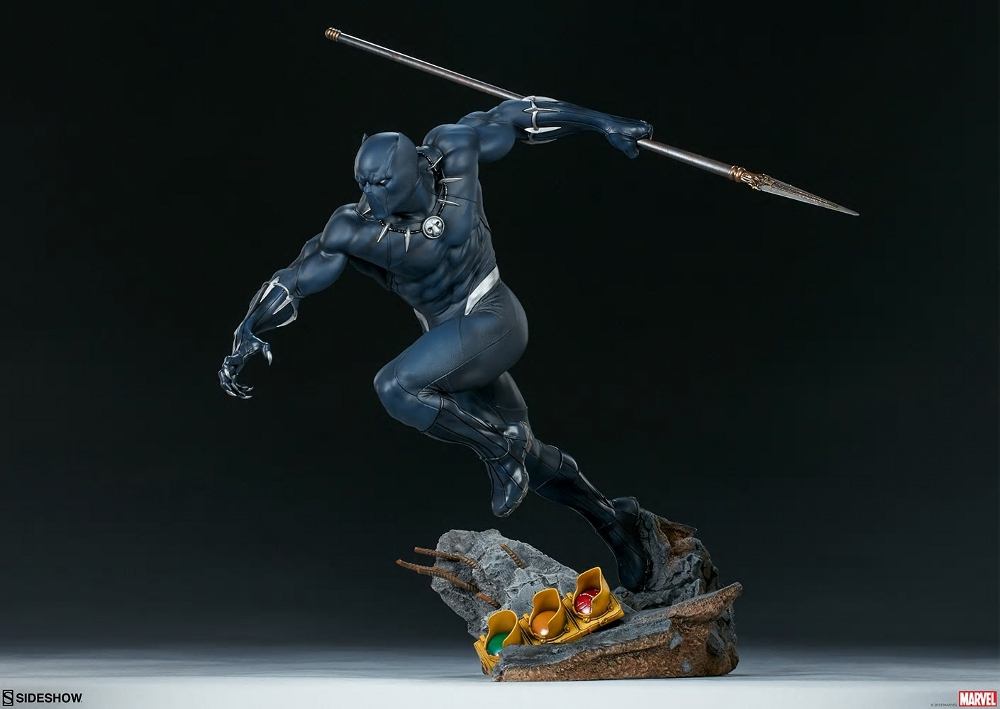 BLACK PANTHER statue - Avengers Assemble Collection  Black_33