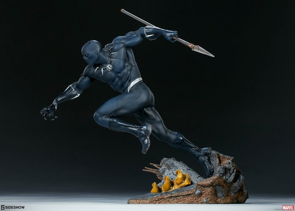 BLACK PANTHER statue - Avengers Assemble Collection  Black_34