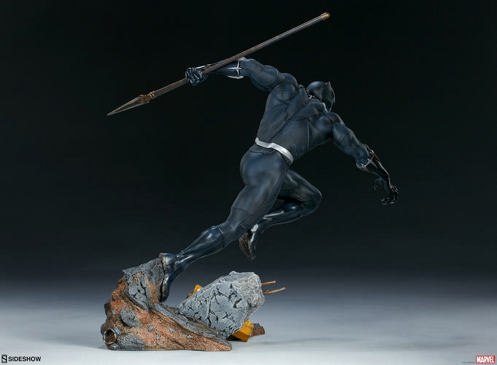 BLACK PANTHER statue - Avengers Assemble Collection  Black_35