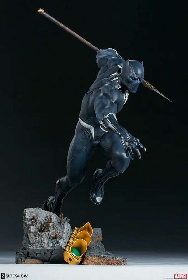 BLACK PANTHER statue - Avengers Assemble Collection  Black_37