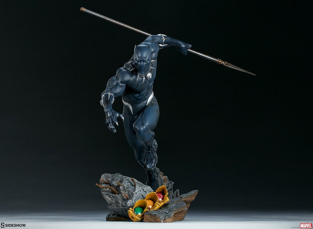 BLACK PANTHER statue - Avengers Assemble Collection  Black_38