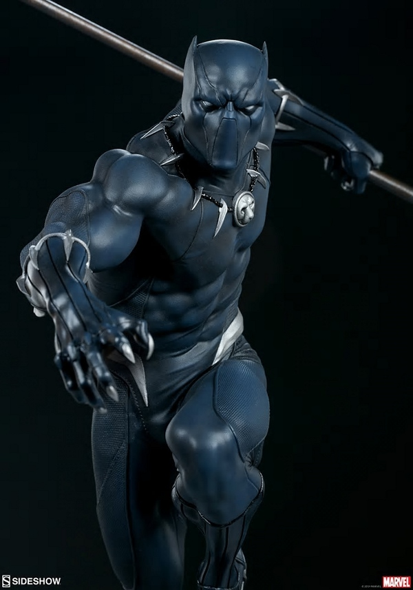 BLACK PANTHER statue - Avengers Assemble Collection  Black_39