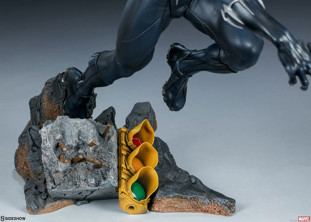 BLACK PANTHER statue - Avengers Assemble Collection  Black_43