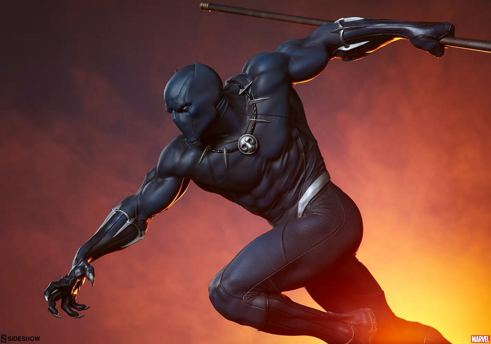 BLACK PANTHER statue - Avengers Assemble Collection  Black_46
