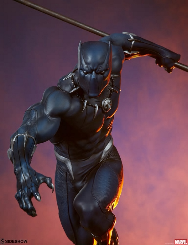 BLACK PANTHER statue - Avengers Assemble Collection  Black_47