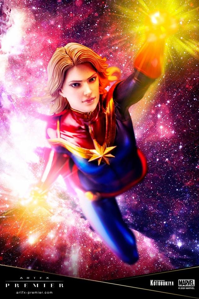 Marvel Universe – Captain Marvel ARTFX Premier Statue Captai35
