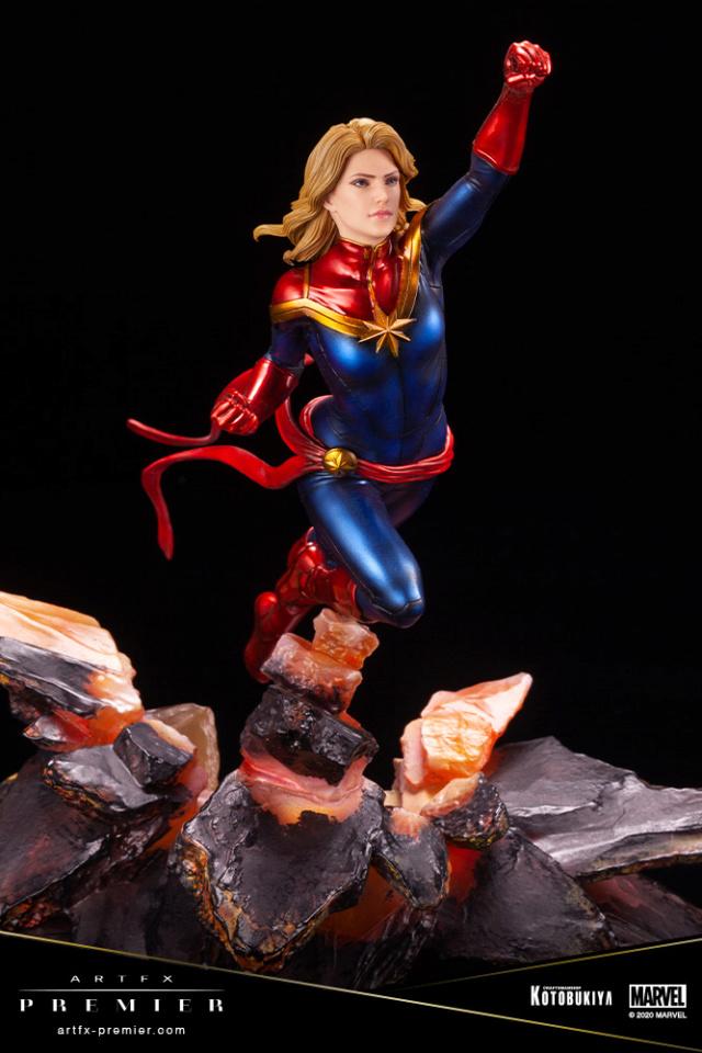Marvel Universe – Captain Marvel ARTFX Premier Statue Captai36