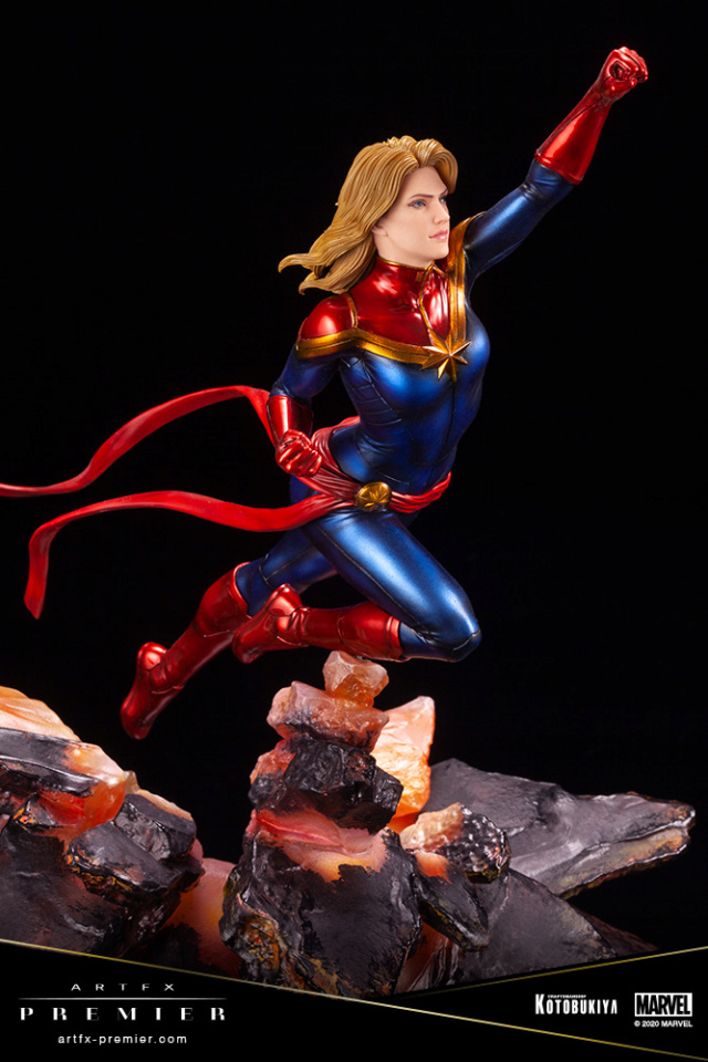 Marvel Universe – Captain Marvel ARTFX Premier Statue Captai37