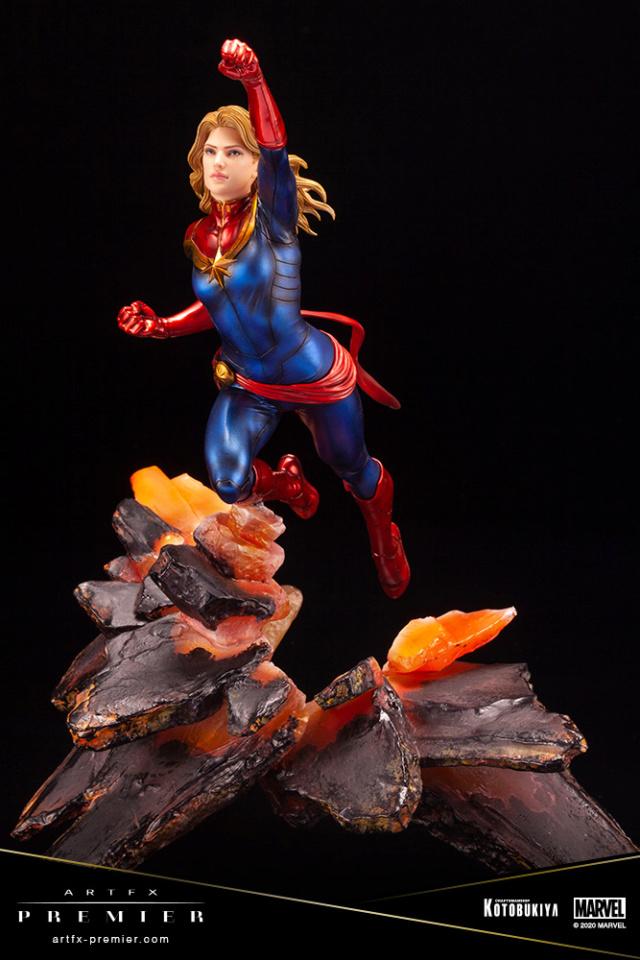 Marvel Universe – Captain Marvel ARTFX Premier Statue Captai38