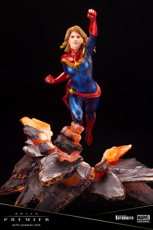 Marvel Universe – Captain Marvel ARTFX Premier Statue Captai39