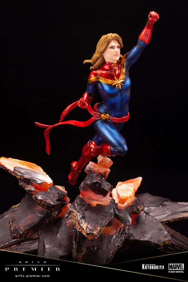Marvel Universe – Captain Marvel ARTFX Premier Statue Captai40