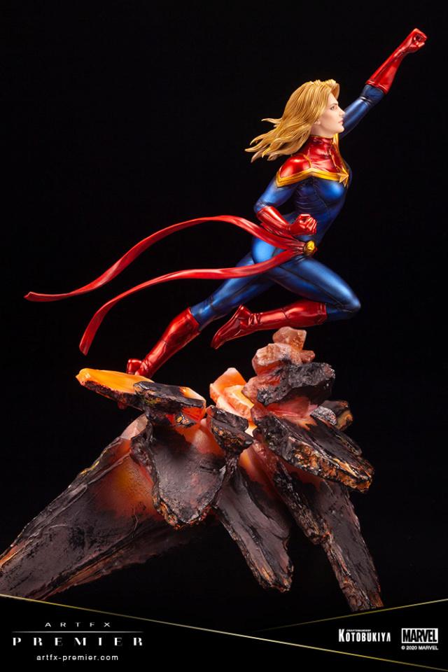 Marvel Universe – Captain Marvel ARTFX Premier Statue Captai41
