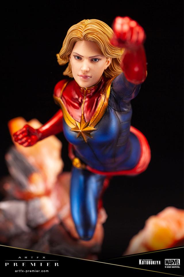 Marvel Universe – Captain Marvel ARTFX Premier Statue Captai47
