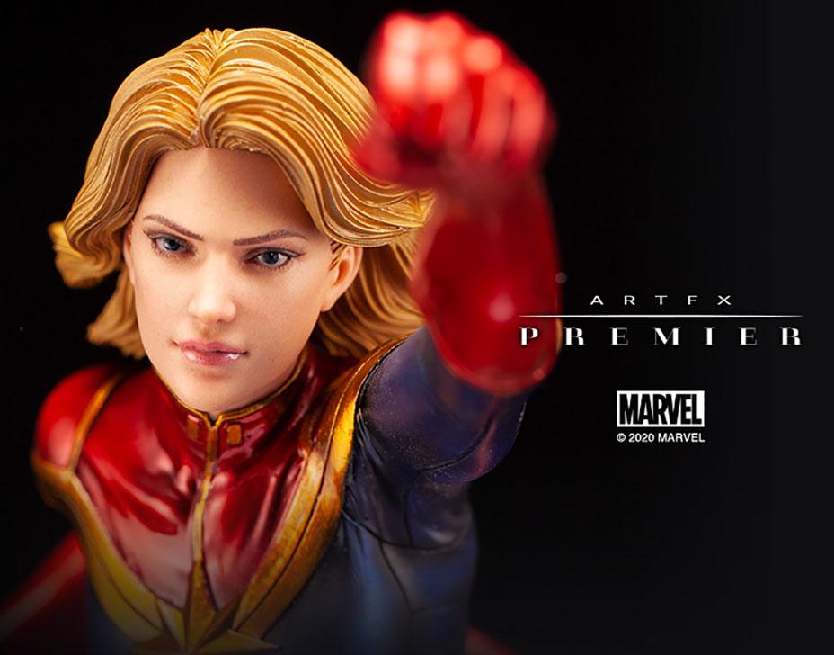 Marvel Universe – Captain Marvel ARTFX Premier Statue Captai50