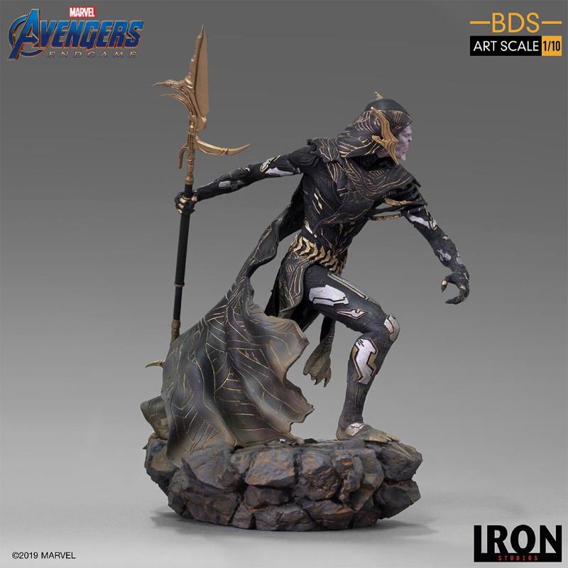 IRON STUDIOS : Avengers: Endgame - Corvus Glaive Black Order BDS Art Scale 1/10 Corvus14