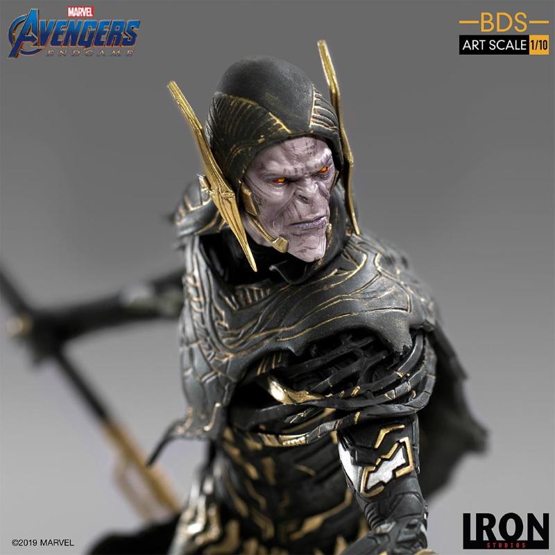 IRON STUDIOS : Avengers: Endgame - Corvus Glaive Black Order BDS Art Scale 1/10 Corvus15