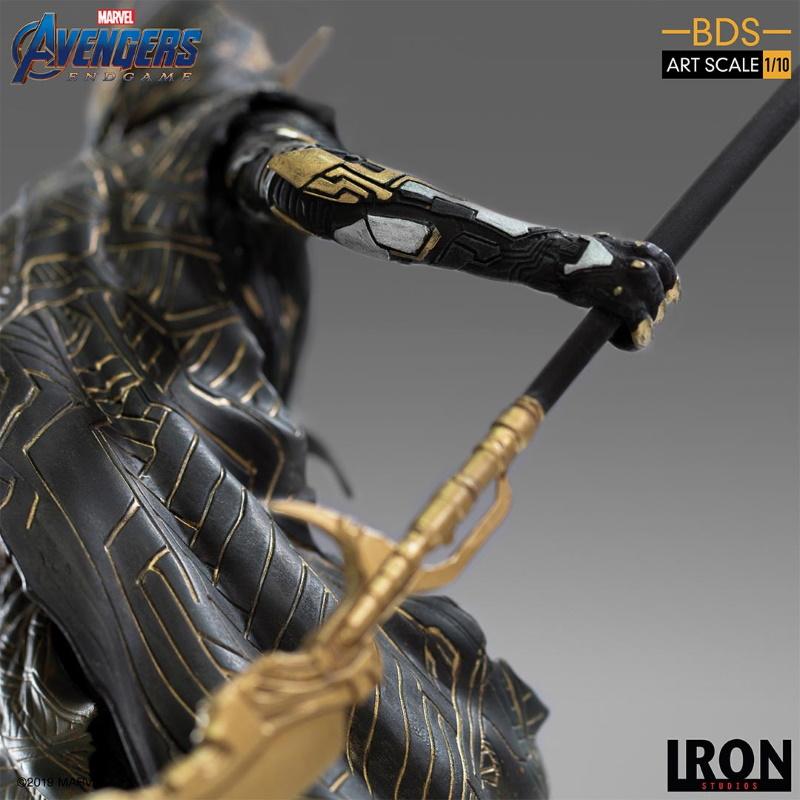 IRON STUDIOS : Avengers: Endgame - Corvus Glaive Black Order BDS Art Scale 1/10 Corvus16