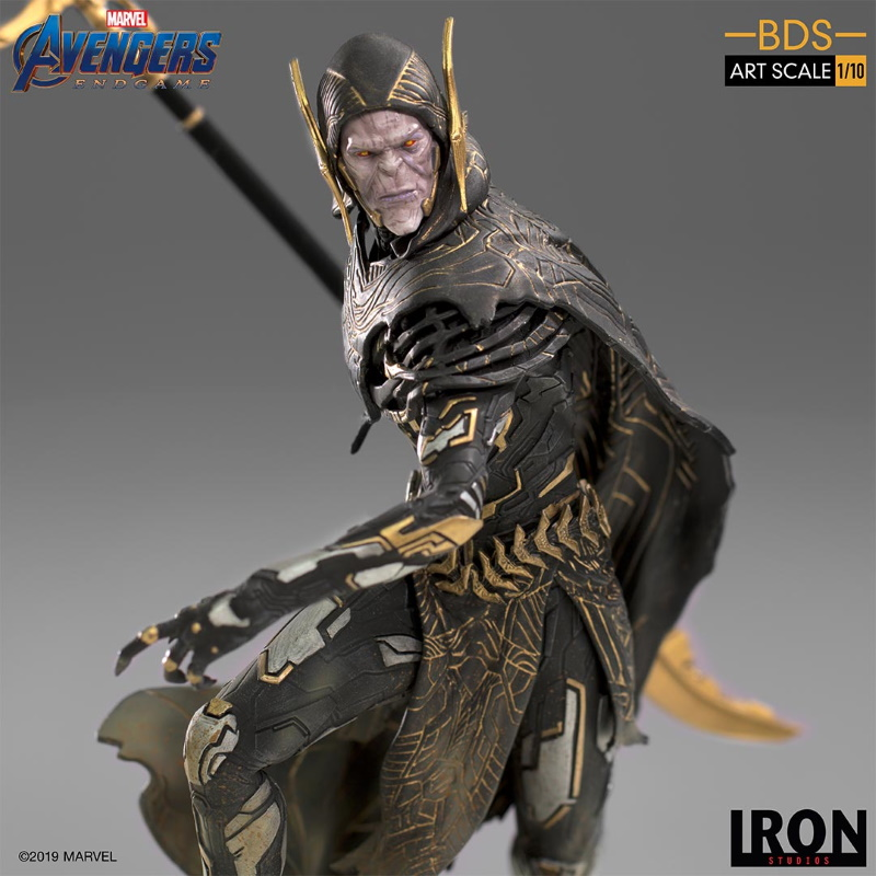 IRON STUDIOS : Avengers: Endgame - Corvus Glaive Black Order BDS Art Scale 1/10 Corvus17