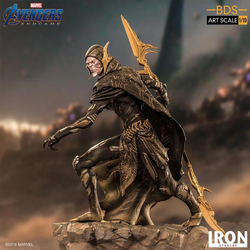 IRON STUDIOS : Avengers: Endgame - Corvus Glaive Black Order BDS Art Scale 1/10 Corvus21