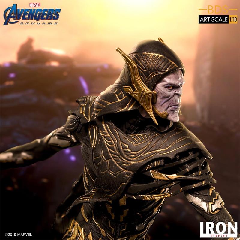 IRON STUDIOS : Avengers: Endgame - Corvus Glaive Black Order BDS Art Scale 1/10 Corvus22