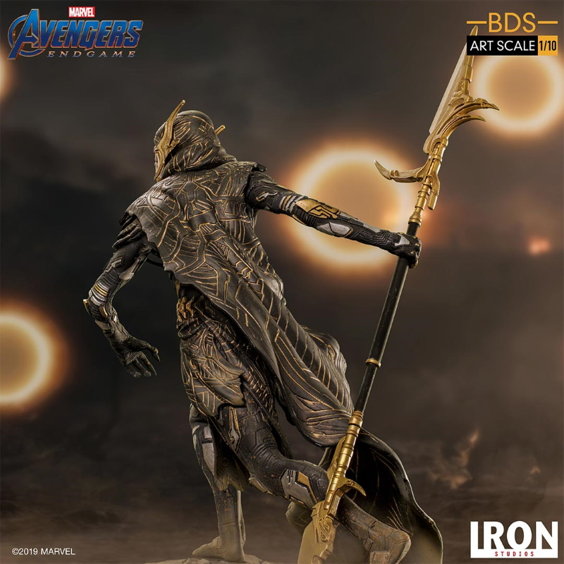 IRON STUDIOS : Avengers: Endgame - Corvus Glaive Black Order BDS Art Scale 1/10 Corvus23