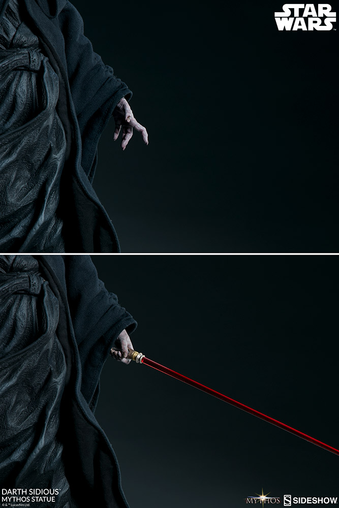 DARTH SIDIOUS Mythos Statue Darth-11