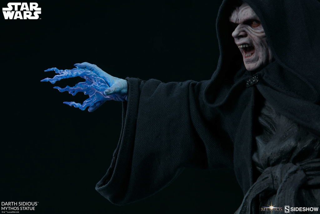 DARTH SIDIOUS Mythos Statue Darth-13