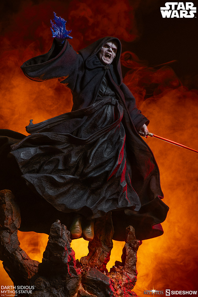 DARTH SIDIOUS Mythos Statue Darth-15