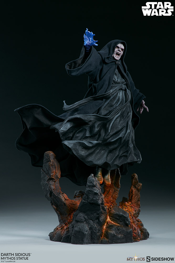 DARTH SIDIOUS Mythos Statue Darth-17