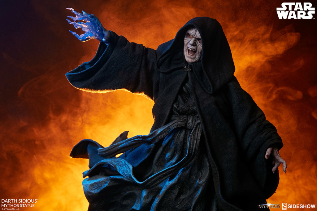 DARTH SIDIOUS Mythos Statue Darth-21