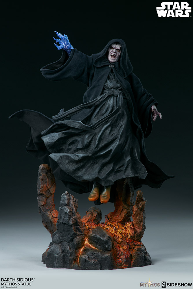 DARTH SIDIOUS Mythos Statue Darth-24