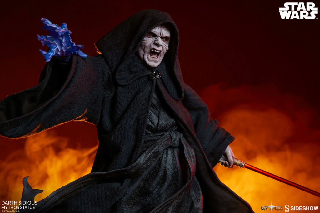 DARTH SIDIOUS Mythos Statue Darth-27