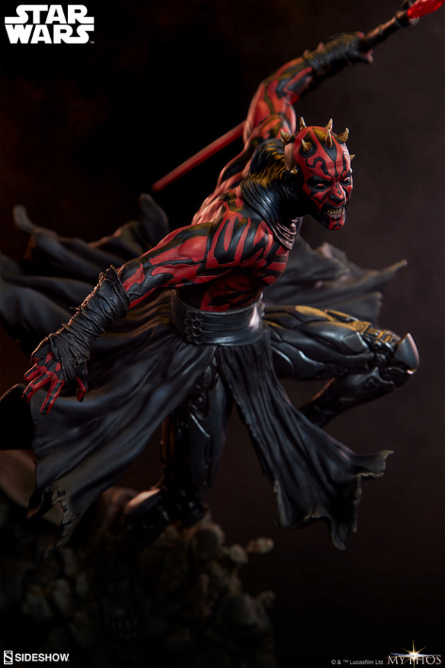 Star Wars  – Darth Maul Mythos Statue Darth-45