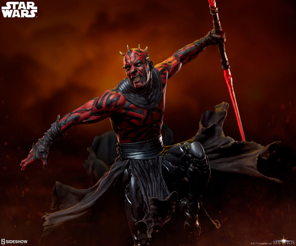 Star Wars  – Darth Maul Mythos Statue Darth-47