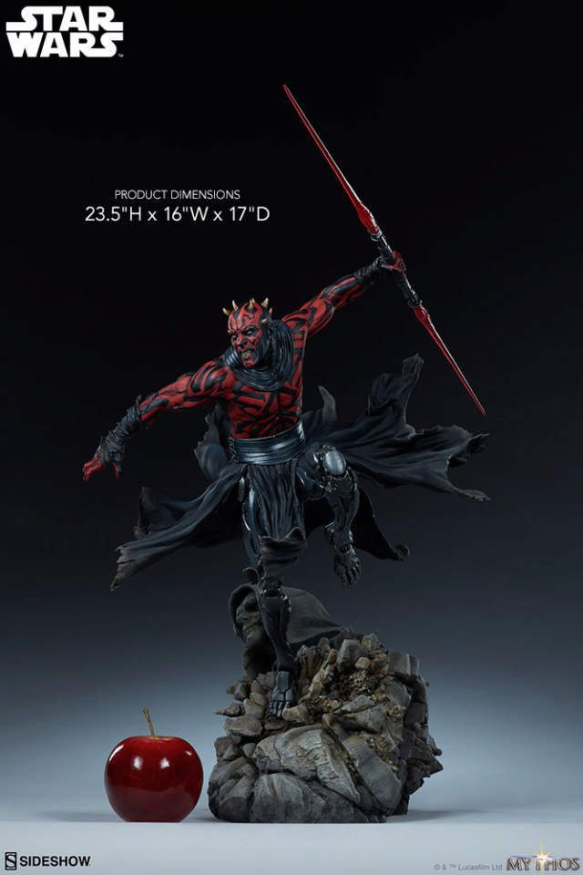 Star Wars  – Darth Maul Mythos Statue Darth-49
