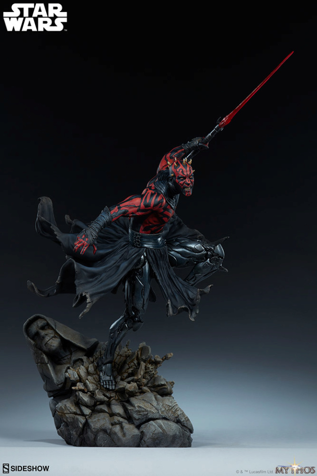 Star Wars  – Darth Maul Mythos Statue Darth-50