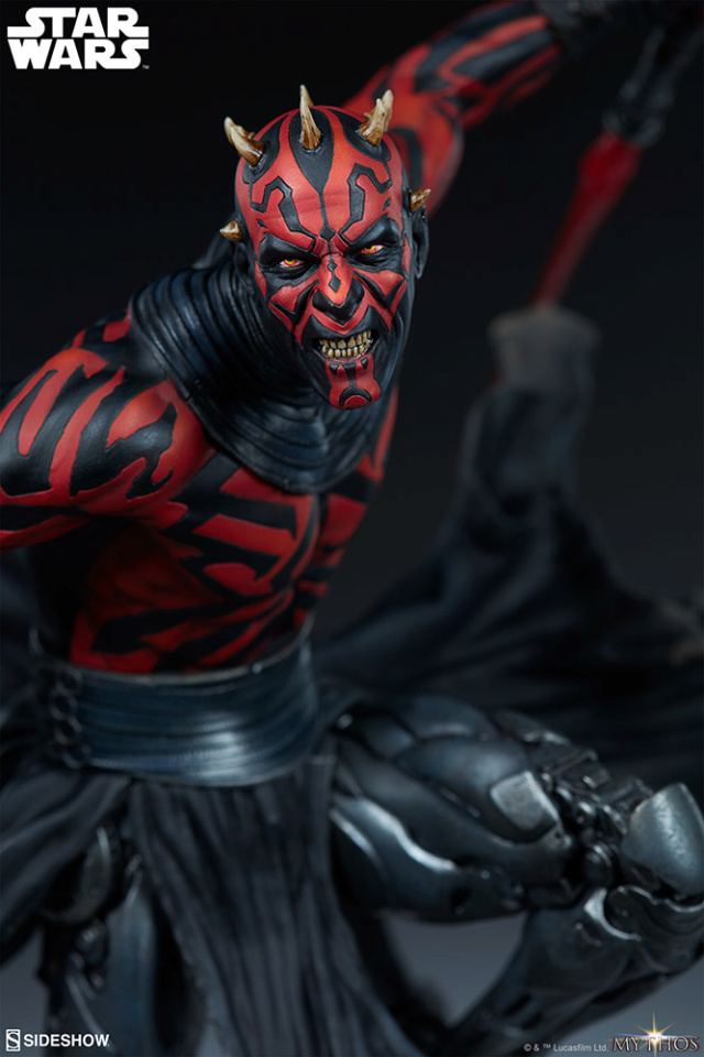 Star Wars  – Darth Maul Mythos Statue Darth-52