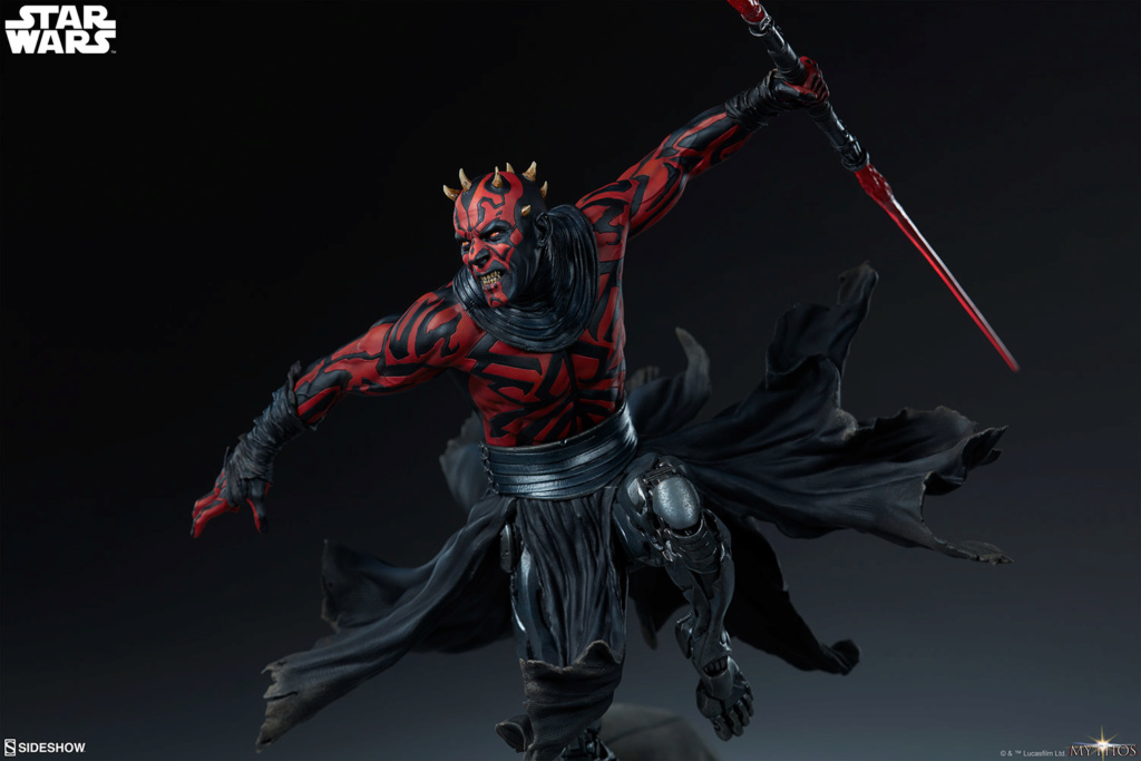 Star Wars  – Darth Maul Mythos Statue Darth-53
