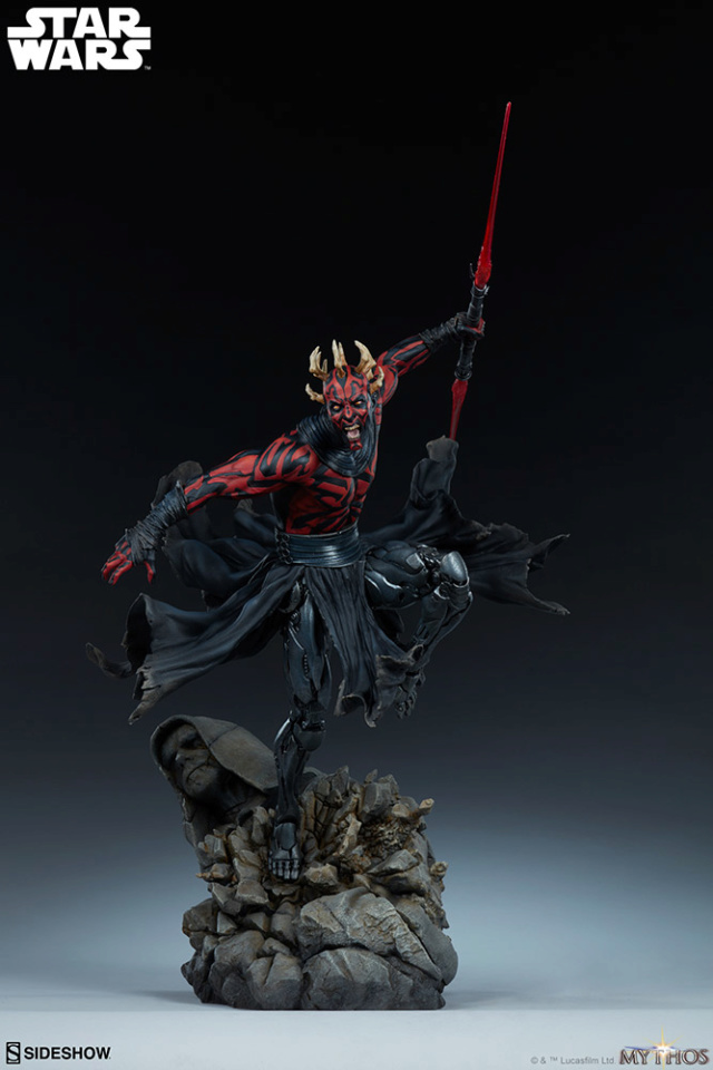 Star Wars  – Darth Maul Mythos Statue Darth-54