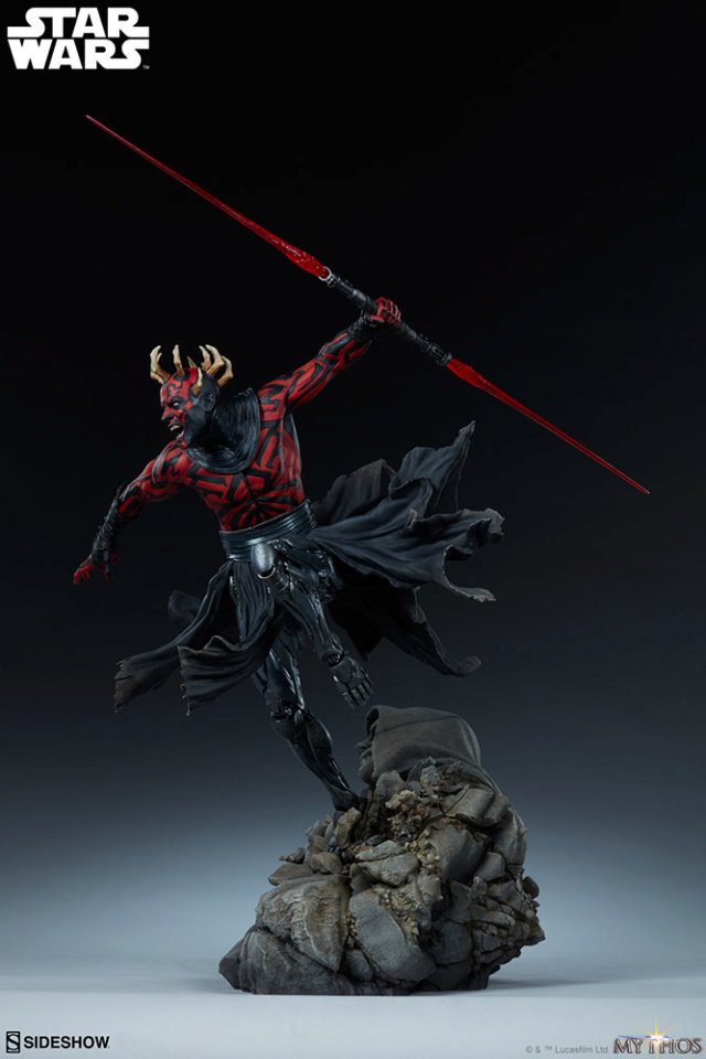 Star Wars  – Darth Maul Mythos Statue Darth-55